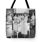 High School Cooking, 1935 Tote Bag