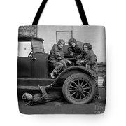 High School Mechanics 1927 Tote Bag