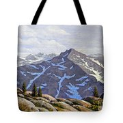 High Sierras Study Tote Bag