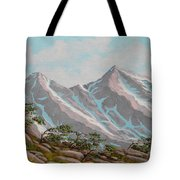 High Sierras Study IIi Tote Bag