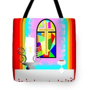 High Stained Glass Tote Bag