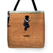 High Steppin Cowboy Tote Bag