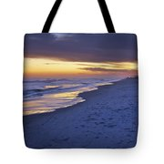 High Tide In Fading Light Tote Bag