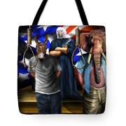 High Treason - State Of The Union-a House Divided1 Tote Bag