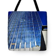 High Up To The Sky Tote Bag