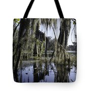 High Water On Blind River Tote Bag