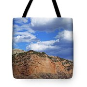 High, Wide, And Awesome Tote Bag