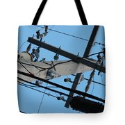 High Wire Tote Bag