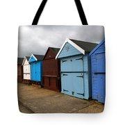Highcliffe Huts 4 Tote Bag