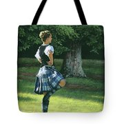 Highland Dancer Tote Bag