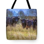 Highland Family Tote Bag