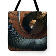 Highland Lighthouse Stairs Cape Cod Tote Bag