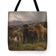 Highland Raid Tote Bag