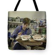 Highland Stoneware Artist At Work Tote Bag