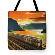 Highlands Of Hudson, Railway, Train Tote Bag