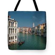 Hight Tide In Venice Tote Bag