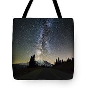 Hightway To The Stars Tote Bag