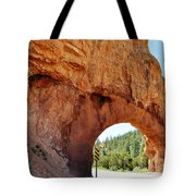 Highway 12 Dixie Tunnel Utah Tote Bag