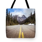 Highway 20 On Rainy Pass In North Cascades National Park Tote Bag