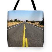 Highway In Central Oregon Tote Bag