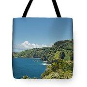 Highway To Heaven Hana Highway Maui Hawaii Tote Bag