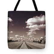 Highway To Paradise Tote Bag