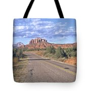 Highway To Sedona Tote Bag