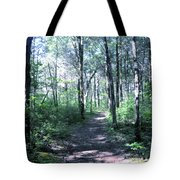 Hike In The Park Tote Bag