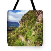 Hike Up Mt Iron Wanaka New Zealand Tote Bag