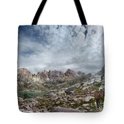 Hiker At Twin Lakes - Chicago Basin - Weminuche Wilderness - Colorado Tote Bag
