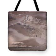Hiker - Great Sand Dunes - Colorado Tote Bag