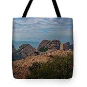 Hiking In Montserrat Spain Tote Bag