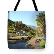 Hiking The Canyons Tote Bag
