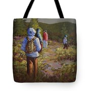 Hiking The Paintbrush Trail, Manning Provincial Park, B. C., Revisited Tote Bag