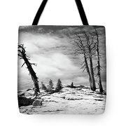 Hiking The Rim, Yosemite Tote Bag