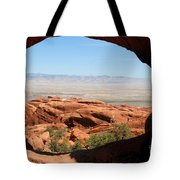Hiking Through Arches Tote Bag