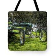 Hill Climb Car Tote Bag