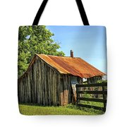 Hill Country Barn Tote Bag