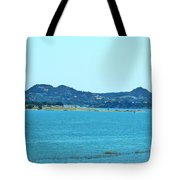 Hill Country Lake Tote Bag