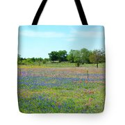Hill Country Pastel Panorama Tote Bag