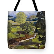 Hill Country Pasture Tote Bag