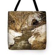 Hill Drain 2 Tote Bag