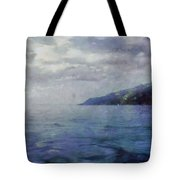 Hill In The Distance Tote Bag