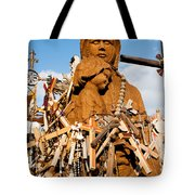 Hill Of Crosses Lithuania Tote Bag