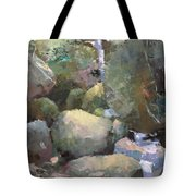 Hill Side Spring Tote Bag