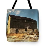 Hill Top Barn Tote Bag