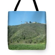Hill With A House Tote Bag