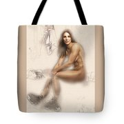Hillary Knight Tote Bag