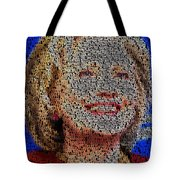 Hillary Presidents Mosaic Tote Bag