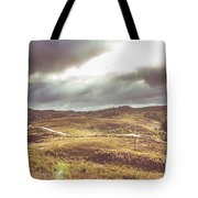 Hills And Outback Tracks Tote Bag